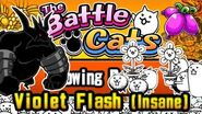 Commentary Strategy Guide (No Ubers Needed) Growing Purple, Violet Flash Battle Cats-2