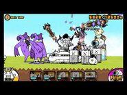 The Battle Cats - Panic Tower (No early Zombie Kill on Cadaver Bear)