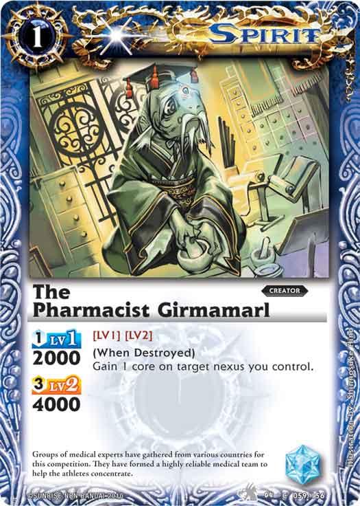 The Pharmacist Girmamarl
