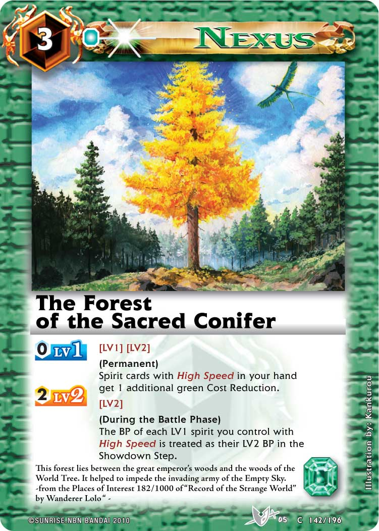The Forest of the Sacred Conifer