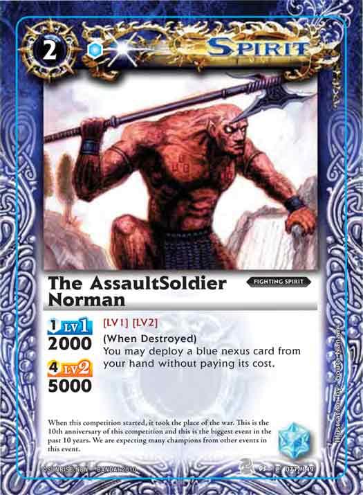 The AssaultSoldier Norman