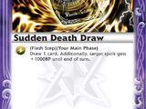 Sudden Death Draw