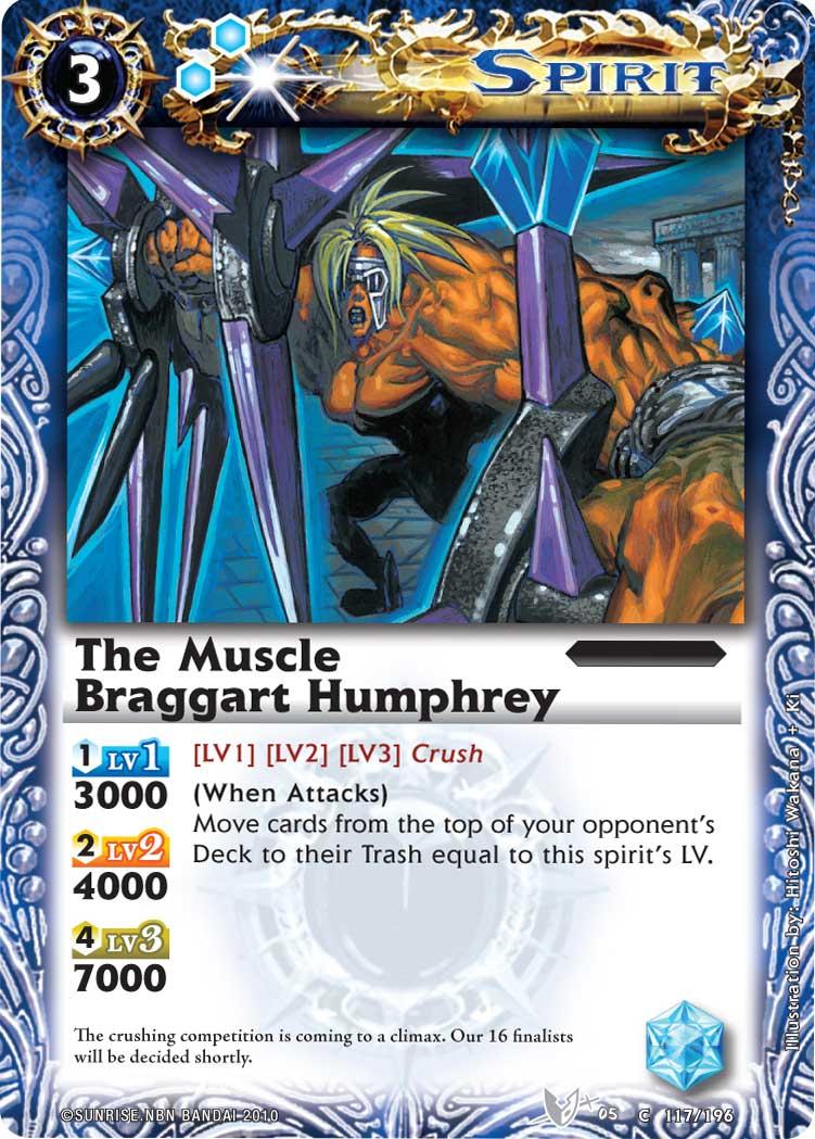 The MuscleBraggart Humphrey