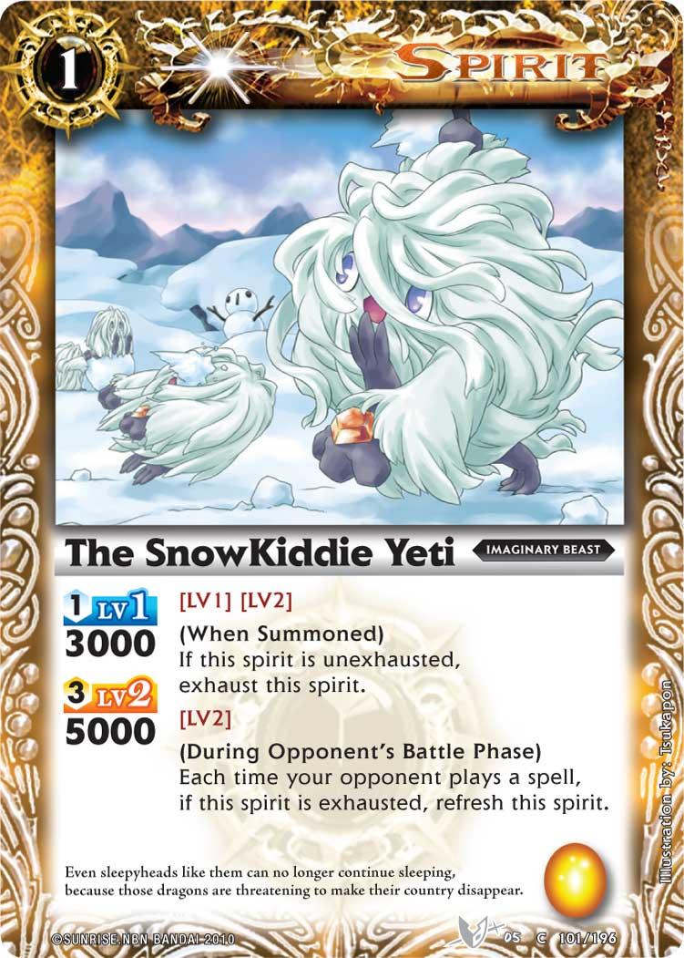 The SnowKiddie Yeti