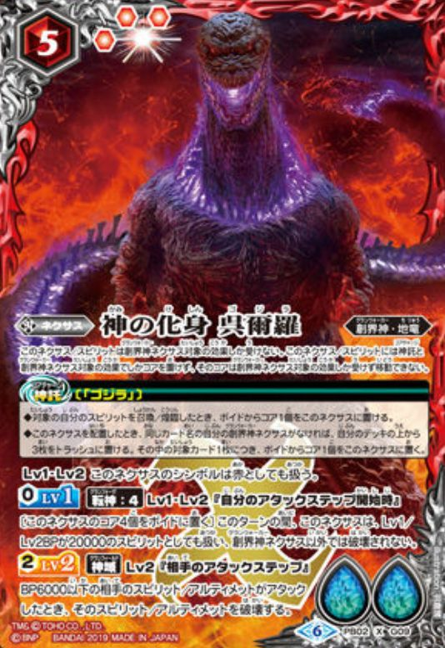 The God Incarnate Godzilla