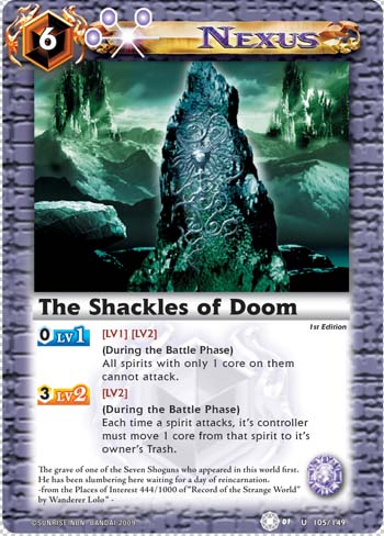 The Shackles of Doom
