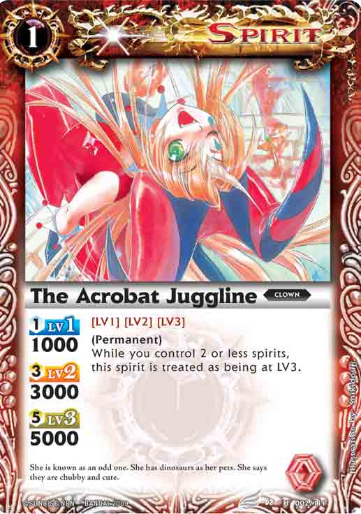 The Acrobat Juggline