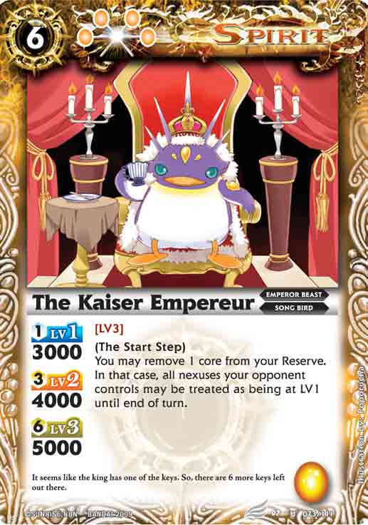 The Kaiser Empereur