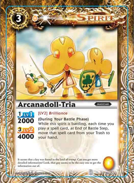 Arcanadoll-Tria