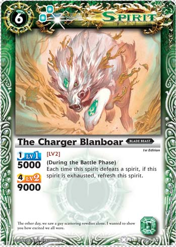The Charger Blanboar