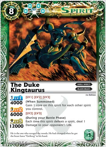 The Duke Kingtaurus