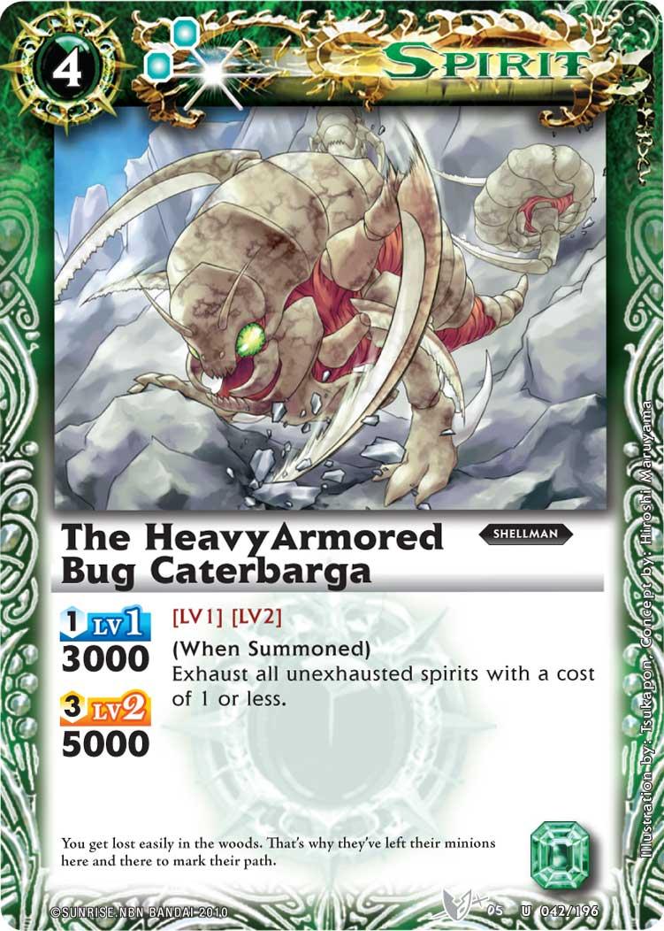 The HeavyArmoredBug Caterbarga
