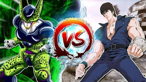 Dragon Ball Z Abridged Cell Vs Kenshiro CellGames TeamFourStar