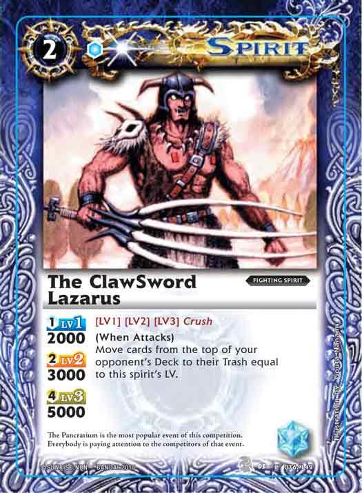 The ClawSword Lazarus