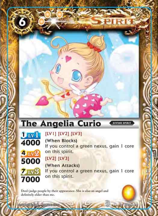 The Angelia Curio