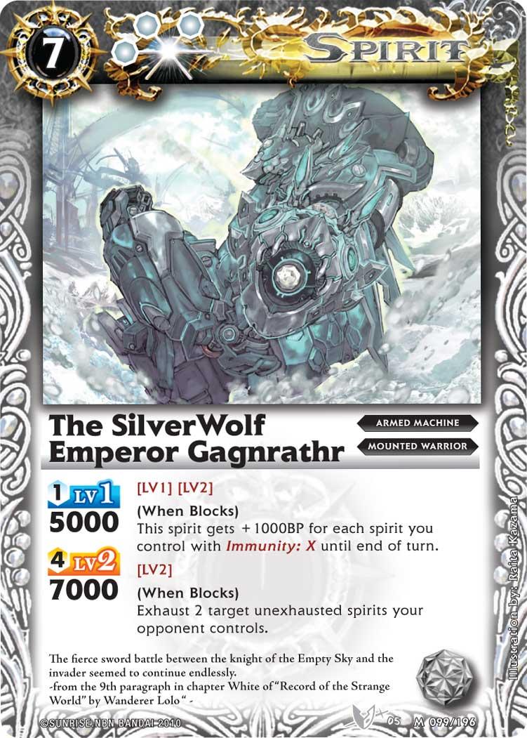 The SilverWolfEmperor Gagnrathr