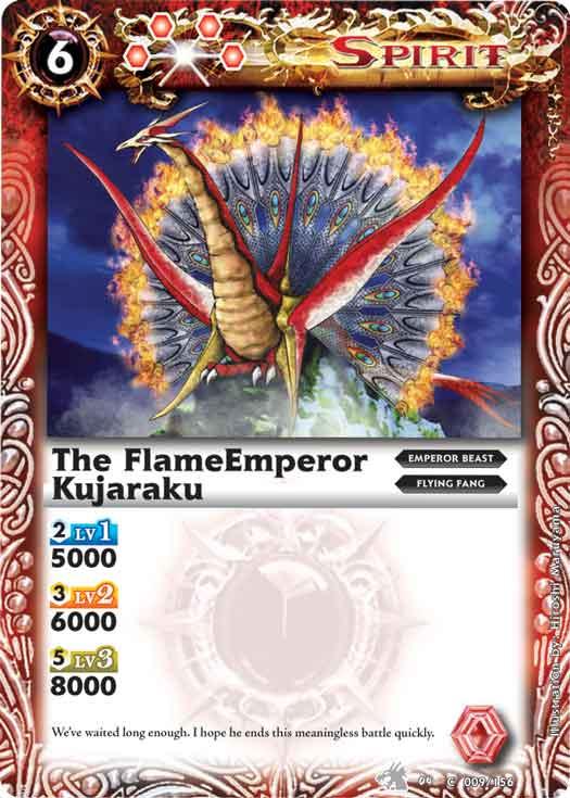The FlameEmperor Kujaraku