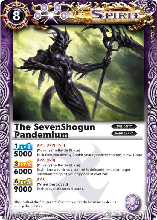 The SevenShogun Pandemium
