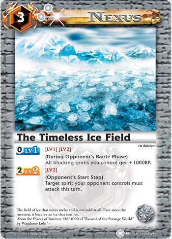The Timeless Ice Field