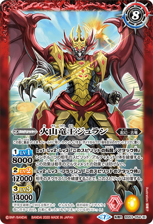 The VolcanoDragonKing Juran