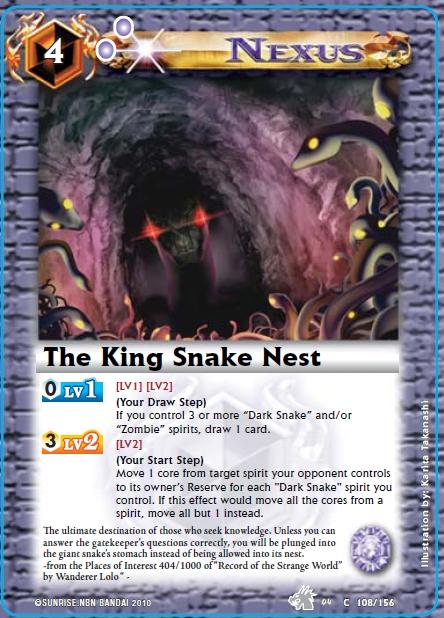 The King Snake Nest