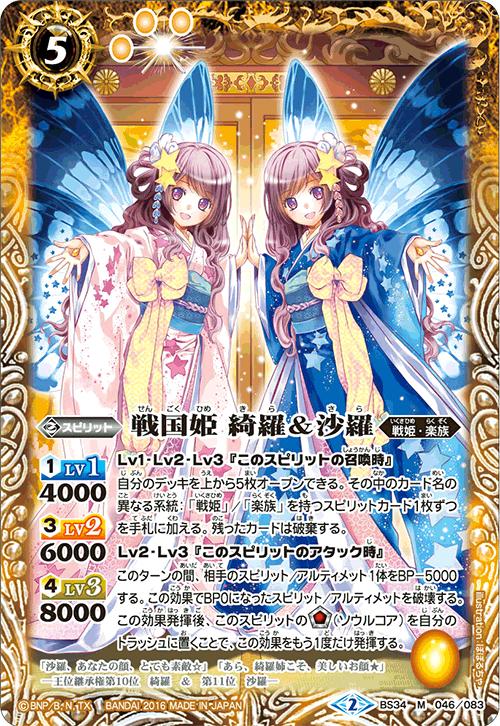 The SengokuPrincess Kira & Sara