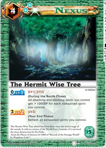 The Hermit Wise Tree