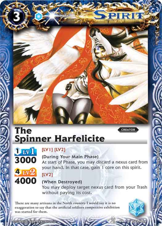 The Spinner Harfelicite