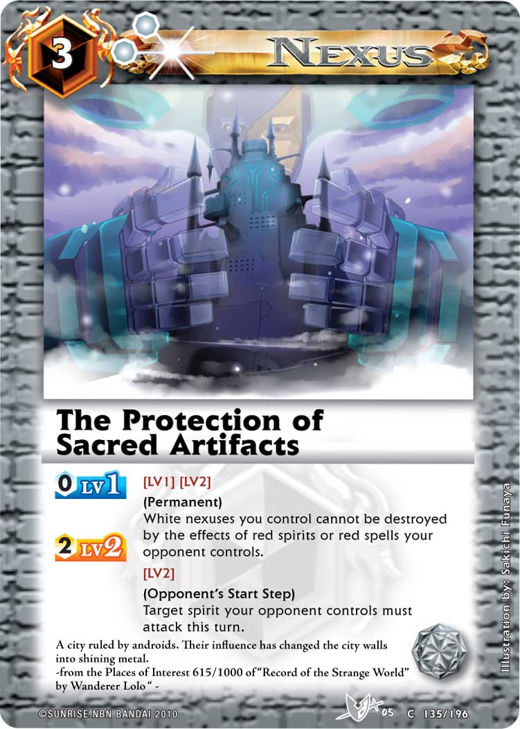 The Protection of Sacred Artifacts