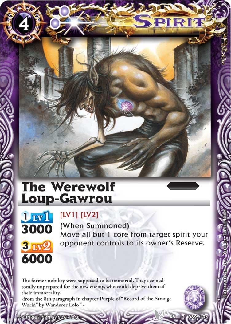 The Werewolf Loup-Gawrou
