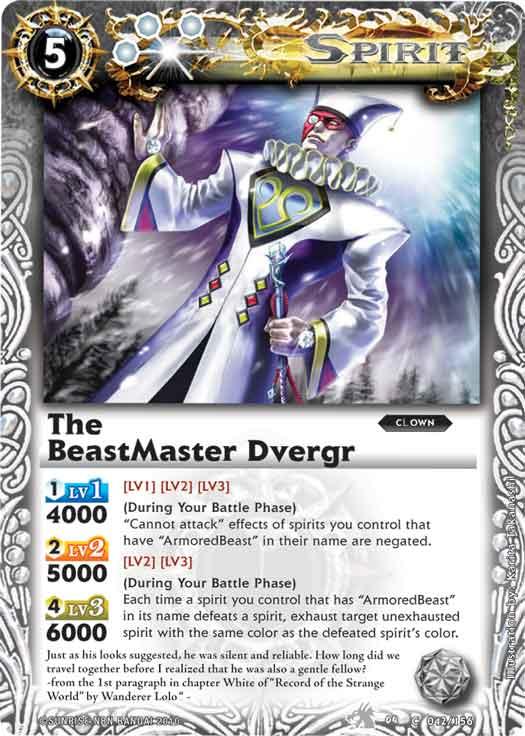 The BeastMaster Dvergr