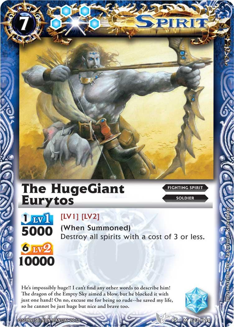 The HugeGiant Eurytos