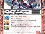 The ThunderEmperorDragon Siegwurm