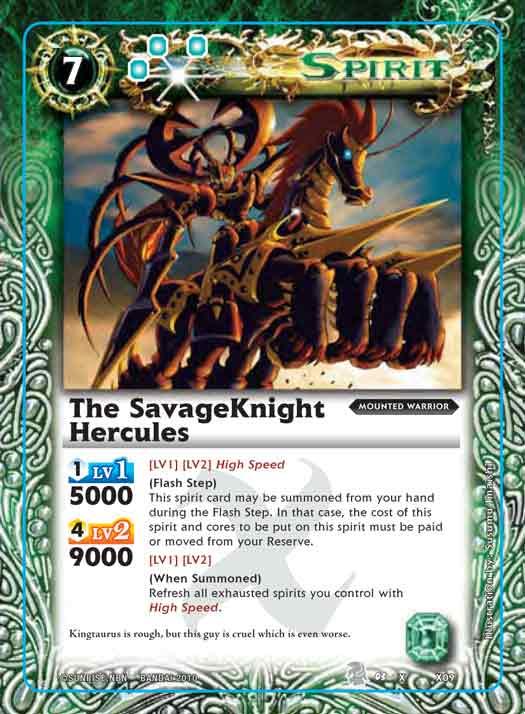 The SavageKnight Hercules