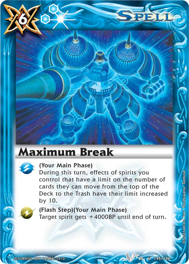 Maximum Break