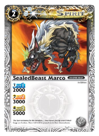 SealedBeast Marco