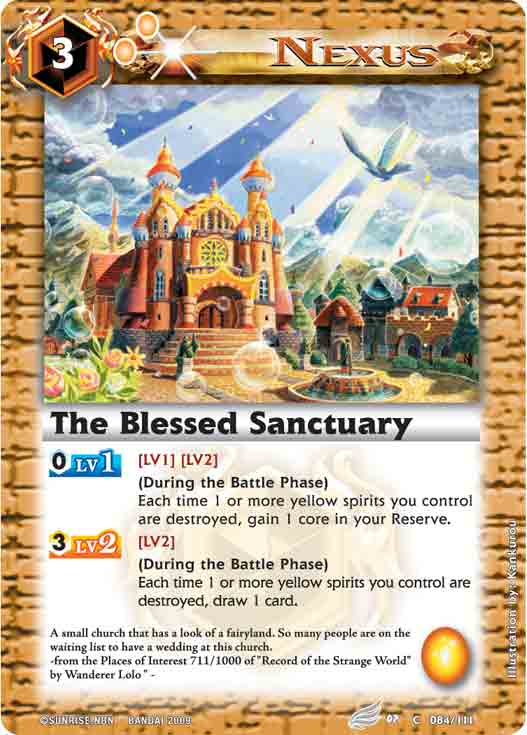 The Blessed Sanctuary