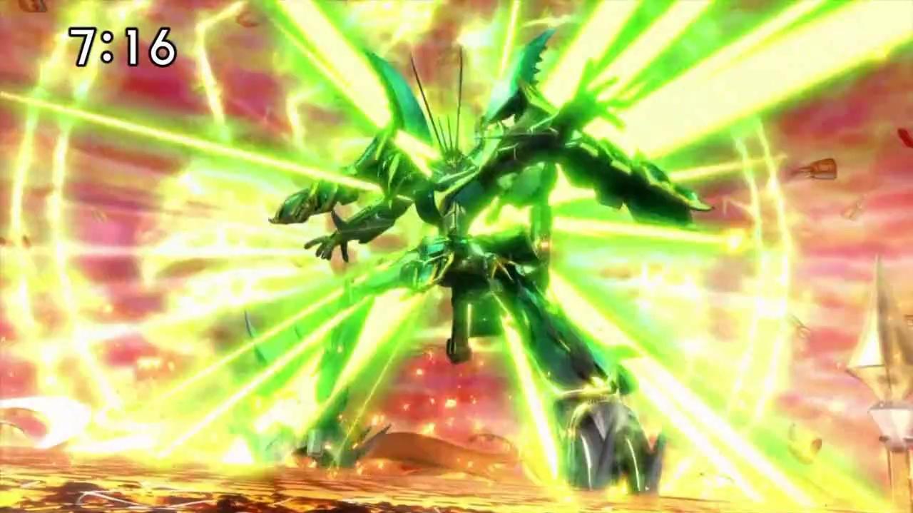 Enter the Tri-Dragon Deity! Kiriga's New Power!