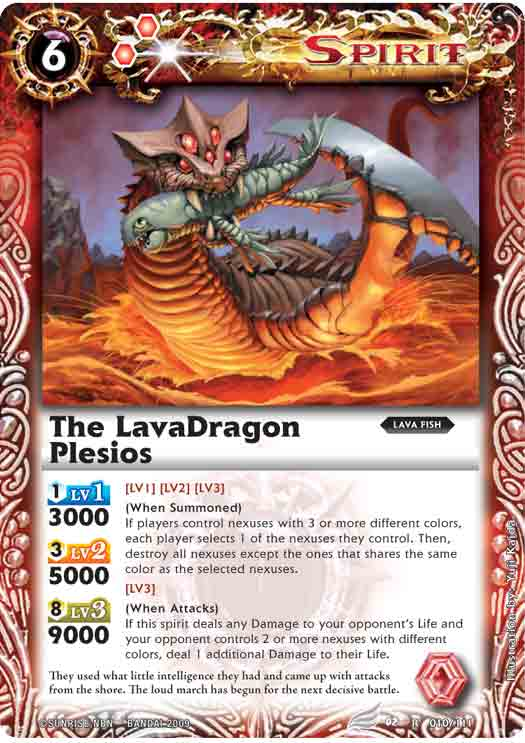 The LavaDragon Plesios