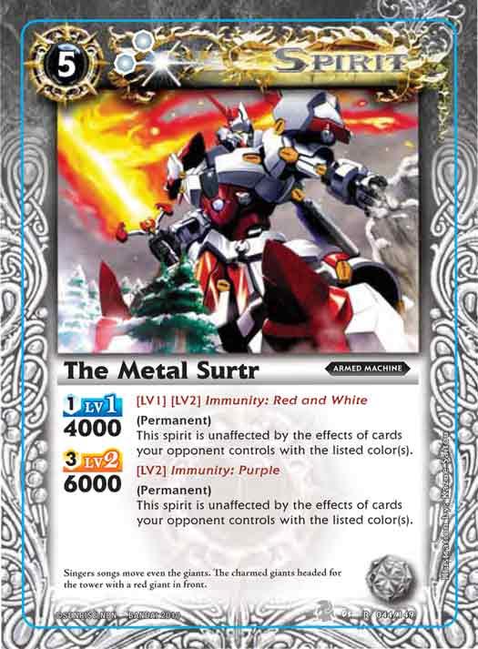 The MetalMan Surtr