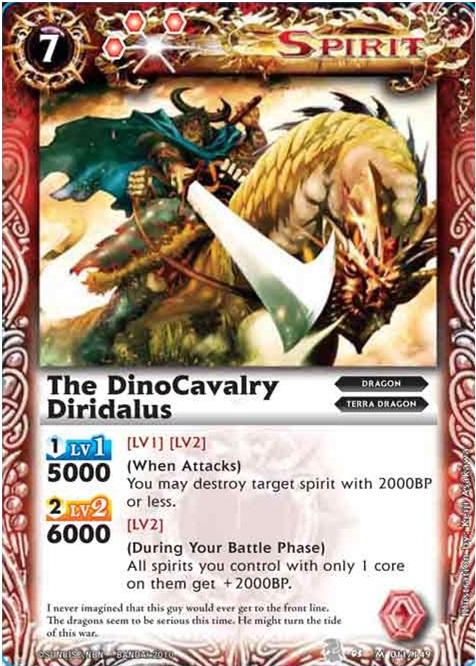The DinoCavalry Diridalus