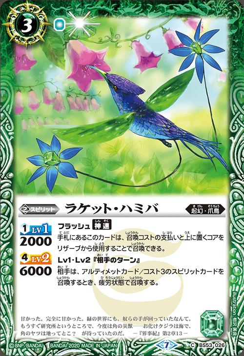 Racket Hummingbird