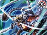 The HundredBeastBladeKing Byak-Garo-Getsuga X