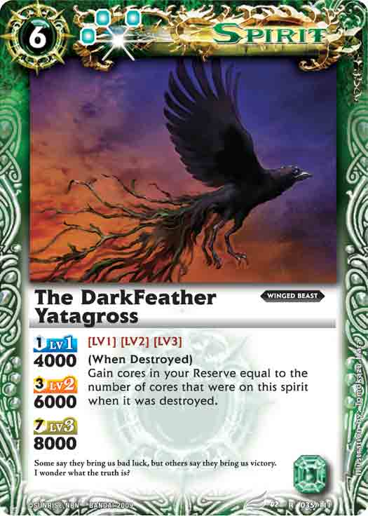 The DarkFeather Yatagross