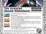 The ArmoredSacred Walhalance