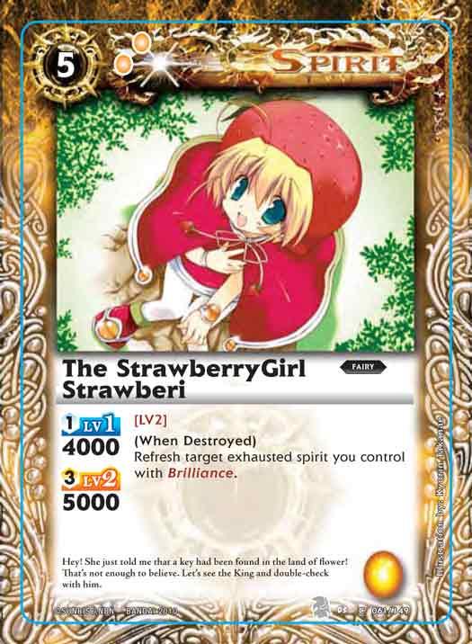 The StrawberryGirl Strawberi