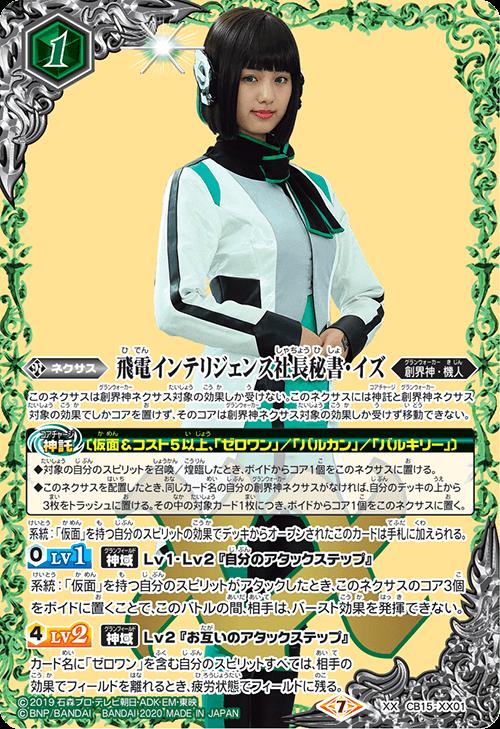 The Hiden Intelligence CEO Secretary Izu