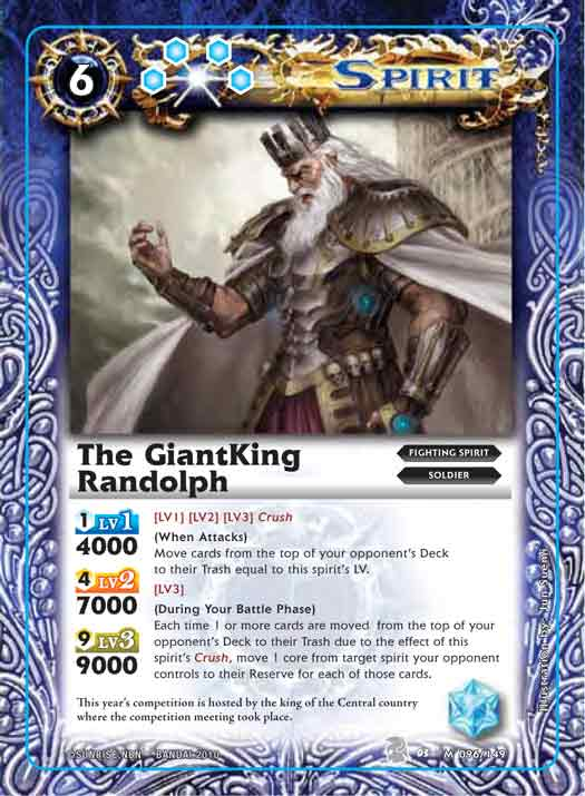 The GiantKing Randolph