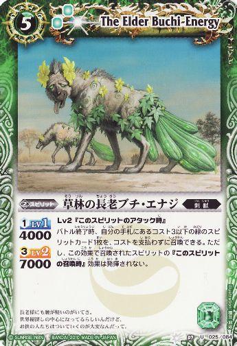 The Elder Buchi-Energy