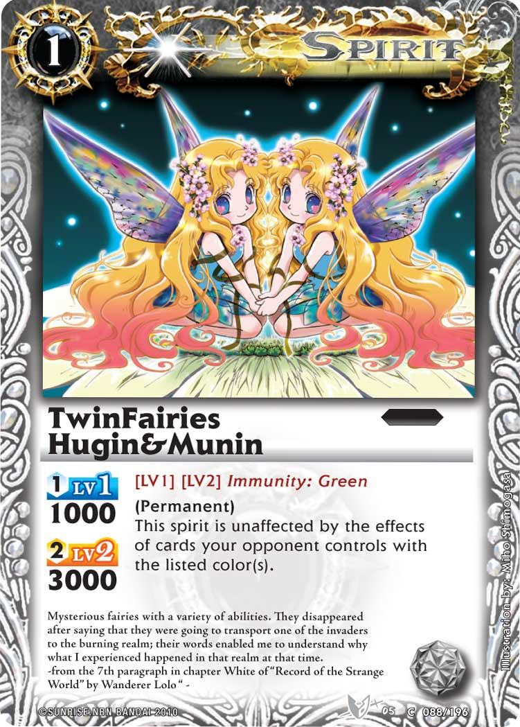 TwinFairies Hugin&Munin